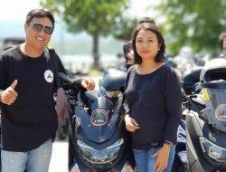 Selalu Ajak Istri Touring Bersama: Jimmy Rade Bikers Advokat Romantis